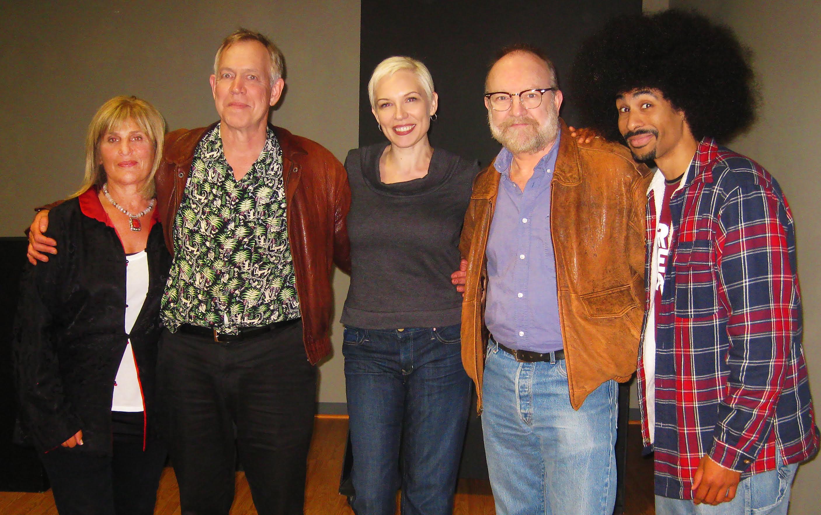 Spoken words performance - benefit to the Tsunami victim funds. Amy Friedman, David O'shea, Elaise Piper, Jim Beaver, Sean Hill